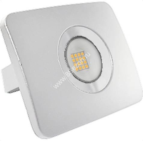 Ecola прожектор св/д 20W 6000 6K 135x100x30 тонкий белый IP65 JPWD20ELB