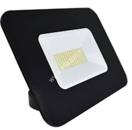 Ecola прожектор св/д 50W 2800 2K 234x174x47 тонкий черный IP65 JPBW50ELB