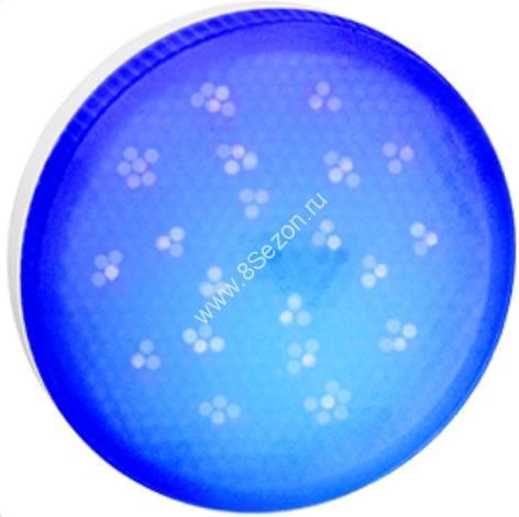 Ecola GX53 св/д 8W Синий матов.  28x74 T5TB80ELC