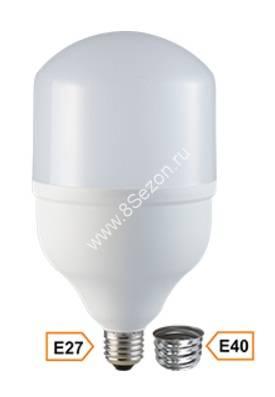 Ecola высокомощн. E27/E40 40W 6000K 6K 220x120 Premium HPUD40ELC