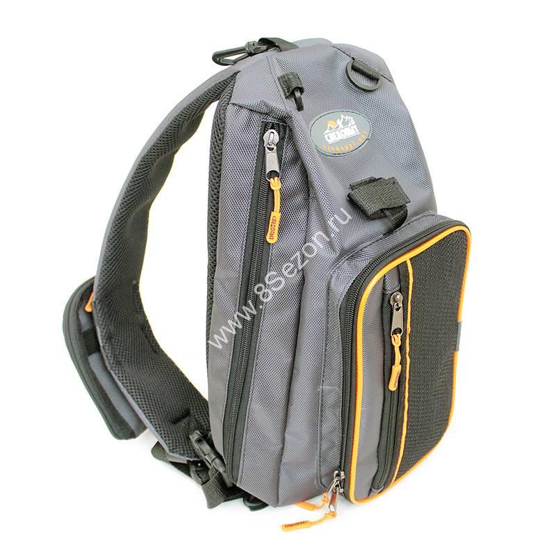 Сумка-рюкзак рыболовная СЛЕДОПЫТ Sling Shoulder Bag