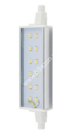 Ecola прожекторная F118 R7s 12W 2800K 2K 118x20x32 Premium алюм. радиатор J7SW12ELC