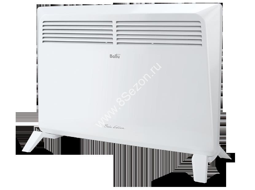 Конвектор BALLU SOLO BEC/SM-1000, мощность 1000 Вт, механическое управление.