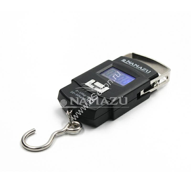 Весы-кантер Namazu, электронные, до 50 кг/100/